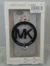 Michael Kors Snap On Case for iPhone 6 Silver Bling Cover New in Package