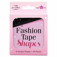 Hollywood Fashion Tape Shapes 24 pack - 4 unique Shapes &