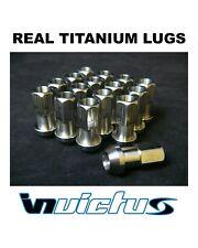 Invictus Titanium Lug Nuts m12x 1.25 USA Tuner Race light weight  Set of 16 lugs