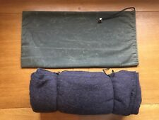 WOOL ARMY BLANKET CARRY BAG / WAX COTTON