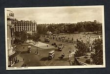 View of Traffic/Buses, Marble Arch, London. Edward VII Stamp/Postmark - 1937.