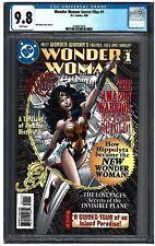 Wonder Woman Secret Files  #1 CGC 9.8 (3/98) DC Comics white pages