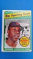 1969 Topps Willie McCovey San Francisco Giants N.L. All Star Baseball Card #416