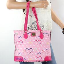 NWT Dooney & Bourke Richmond Sweetheart Shoulder Bag HE721 Pink Hearts NEW RARE