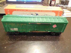 Lionel O Gauge No.6572 Railway Express Car with Original Box