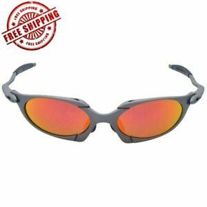 Men Cycling Glasses Polarized Alloy Frame Juliet X Metal Riding Sunglasses Sport