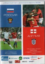 UEFA Championship (Euros) Football International Fixture Programmes