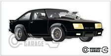New! Mad Max Movie Car - Black Intercepter Holden A9X Coupe Road Warrior