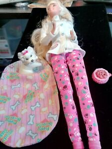 Vintage Pet Doctor Barbie with Dog & some Accessories READ DETAILS