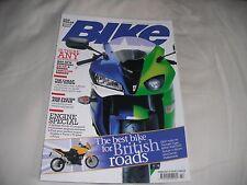 BIKE MAGAZINE FEBRUARY 2007 THE BEST BIKE FOR BRITISH ROADS