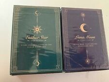 Esther Star & Violet Luna Moon Playing Cards 2 Deck Set Classic not bicycle BNIB