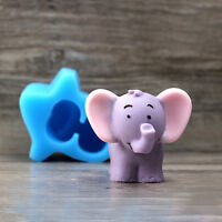 3D Elephant Soap Mold Silicone Choclate Mould Cake Baking Ice Cream Tray