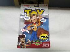 Mattel Toy Story  Deluxe Talking Woody Figure Pull String Talks Vintage 2010 NEW