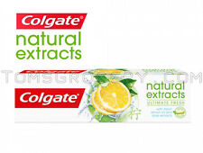 COLGATE Natural Extracts ULTIMATE FRESH Toothpaste with Lemon Oil & Aloe 75ml