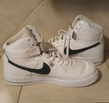 Man's 10.5 Nike Air Force 1 High' 07 White Black Basketball Shose