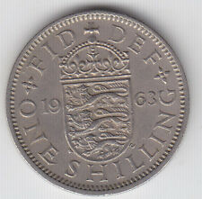 Great Britain 1 Shillings Coin - Elizabeth II - English Crest - Various Years