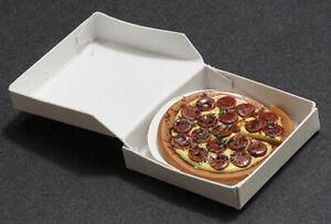 Miniature Dollhouse Pizza In a Box 1:12 Scale New