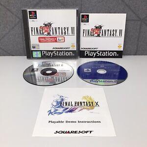 Final Fantasy VI | PlayStation 1 | PS1 | Sony | PAL