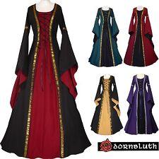 MEDIOEVO Renaissance Costume veste vestito Anna SU MISURA SCELTA COLORE