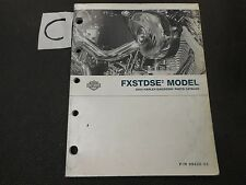 2004 HARLEY FXSTDSE2 OFFICIAL FACTORY PARTS CATALOG SCREAMIN EAGLE SOFTAIL DEUCE