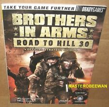 Brothers in Arms: Road to Hill 30 Official Strategy Guide Book PS2 XBOX PC New