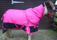"""SMALL PONY 1200D 100gm FILL COMBO RIPSTOP WATERPROOF TURNOUT RUG 4'6"""" -5'0"""""""