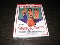 Caray Con Il Divorzio DVD Fernando Esteso Rafael Alonso Sigillata Nuovo
