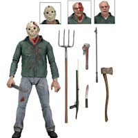 "Friday the 13th Part IV 3D JASON VOORHEES 7"" Scale Ultimate Action Figure"