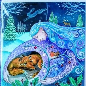 Wendy Andrew Pagan Greetings Cards mother sister daughter fox yule christmas