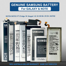 Genuine Replacement Battery 4 Samsung Galaxy S5 S6 S7 edge S8 S9+ Note 4 5 8 9