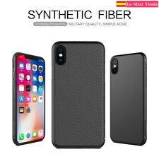 Coque Pour iphone X / Xs - Nillkin SYNTHETIC FIBER - Coque Fibre De Carbon