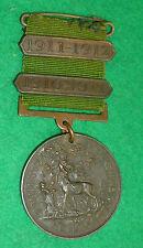 Berkshire Education Committee Bronze School Attendance Medallion 1910 - 1912