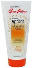 QUEEN HELENE Natural Facial Scrub, Invigorating Apricot 6 oz