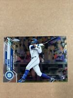 2020 TOPPS CHROME UPDATE KYLE LEWIS RC ROOKIE DEBUT ROY MARINERS