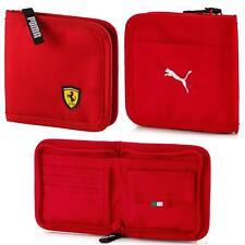 Puma Scuderia Ferrari Fanwear Wallet Card Holder Red 053526 01