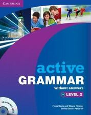 Active Grammar Level 2 Without Answers And Cd-Rom: By Fiona Davis, Wayne Rimmer