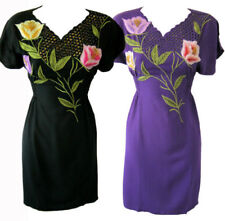 Crochet Dresses for Women with Embroidered