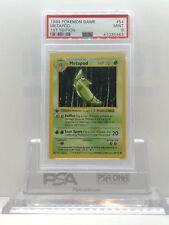 POKEMON 1999 Base Set 1st Edition METAPOD #54/102 Shadowless Card PSA 9 Mint