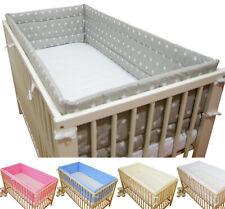 Nestchen 420x30 Bettschlange Bettumrandung Babyzimmer Knotenkissen Bettnestchen