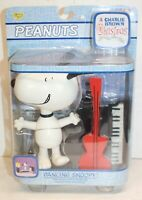 Peanuts Dancing Snoopy Deluxe Action Figure Charlie Brown Christmas Playing 2004