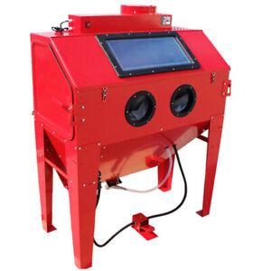 Industrial Air Sand Blaster Blast Blasting Cabinet