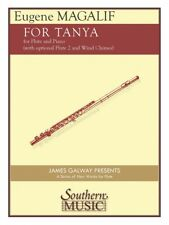 For Tanya for Flute Duo with Piano and Optional Wind Chimes Book New 000244914