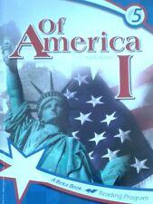 Of America I, A Beka Reading Program, Grade 5