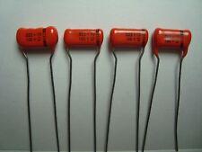 Matched Quad Set . 022uf 100V Sprague Film Orange Drop Capacitor ALL MATCH +/-1%