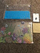 Macbook Pro 13 hard shell case Ocean Fish Undersea With Keyboard Skin