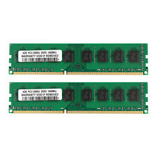 New 2X 4GB PC3-12800 DDR3-1600MHz 240pin DIMM Memory For AM3 AM3+ Motherboard