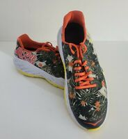 Hoka One One Clayton Kona 2016 Floral Running Sneakers Shoes Size 11.5 1012271