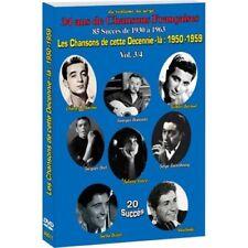 """DVD """"Las canciones de 1950 - 1959"""" NUEVO EN BLÍSTER"""