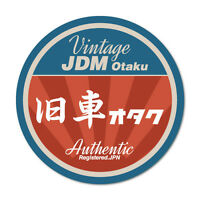 Vintage JDM Otaku Sticker Decal JDM Car Drift Vinyl Funny Turbo