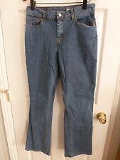 Levis Midrise Boot Cut Denim Jeans Pants Size 10